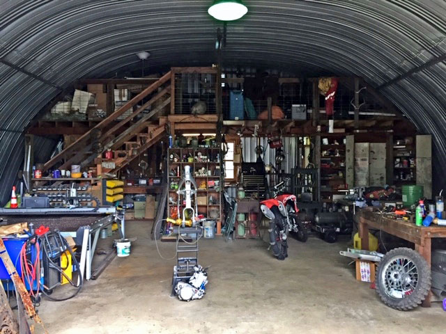 Metal Arch Storage