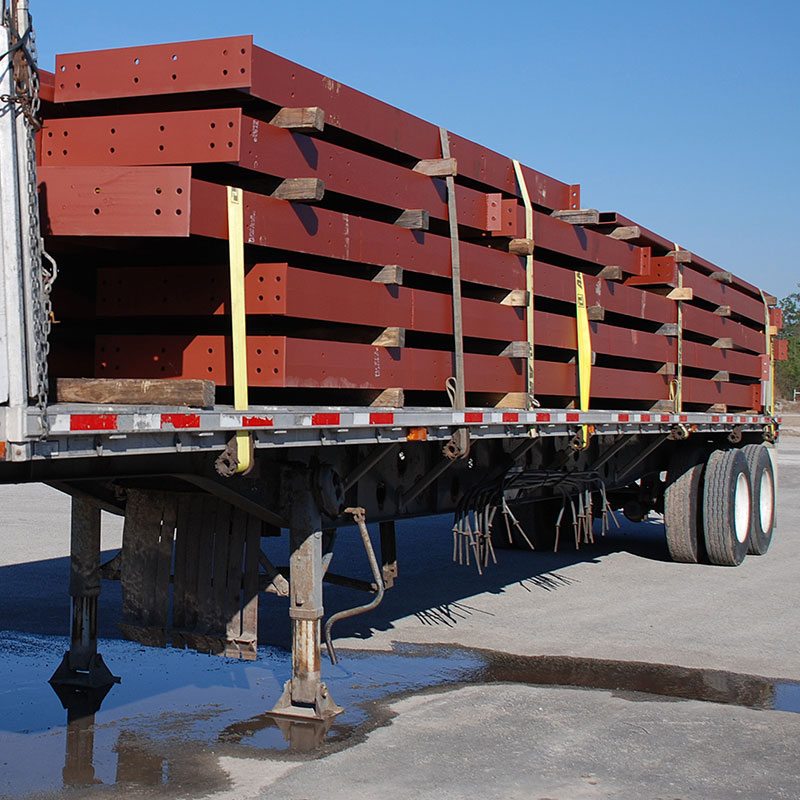 Steel Building Delivery