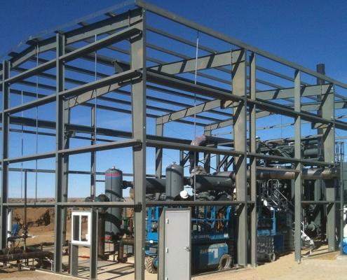 Steel Compressor Shelter