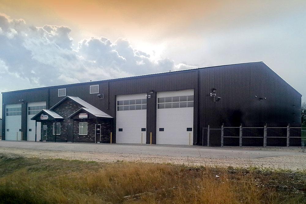 Gas and Oil Buildings | Oilfield Industry Steel Buildings