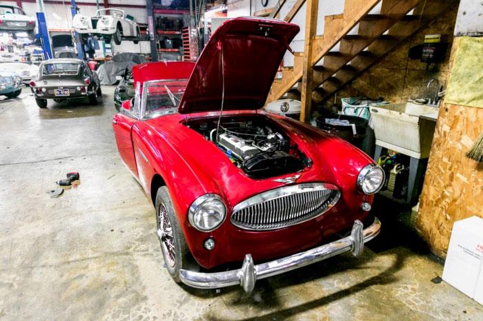 Metal Garage Auto