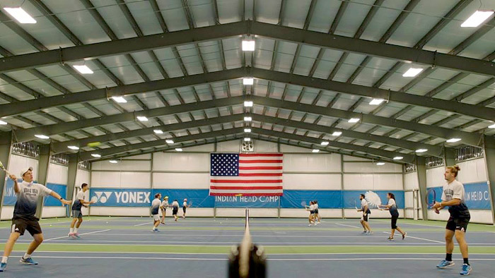 Metal Tennis Facility in PA