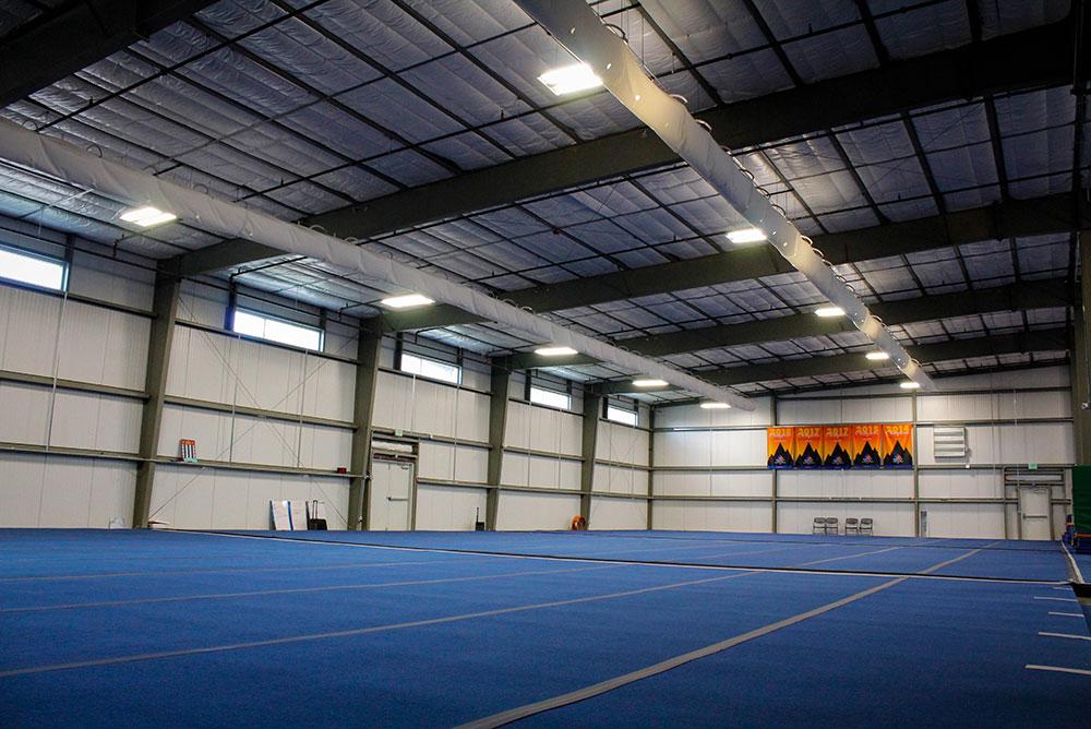 Prefabricated Steel Cheer Gymnasium Building In Colorado
