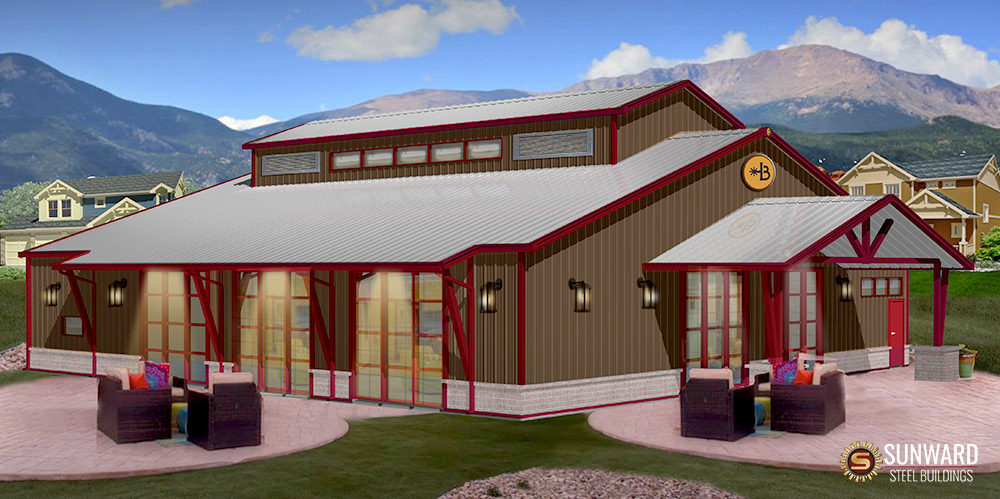 Sunward Steel Provides Professional 3d Building Renderings