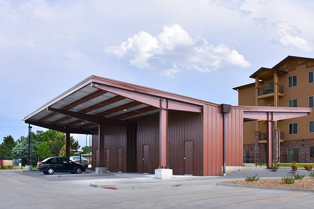 Steel Carport in Colorado