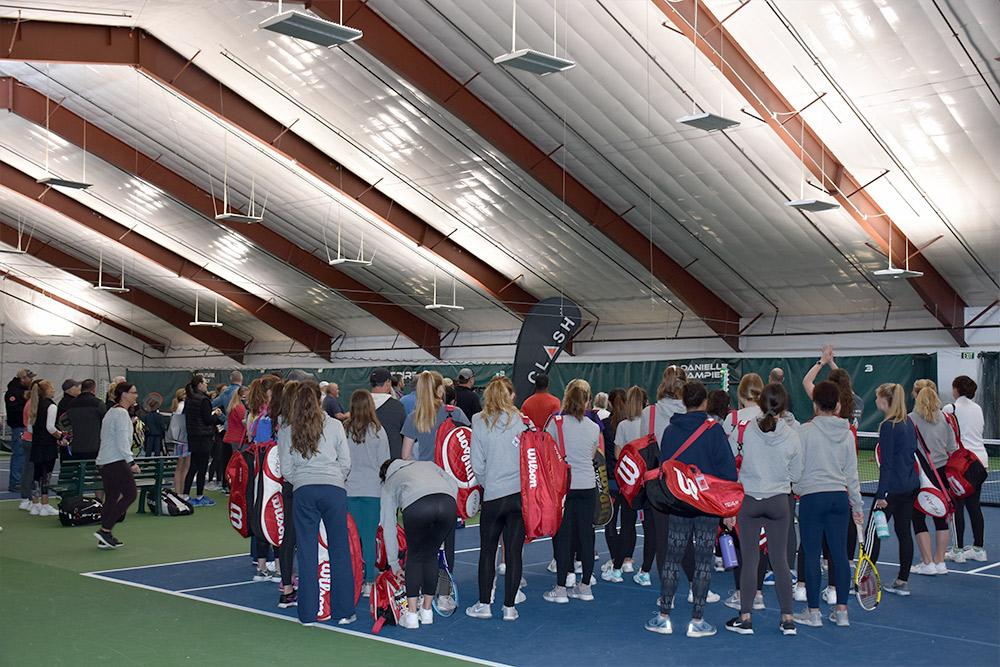Indoor Tennis Building Colorado