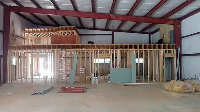 Metal Construction Building